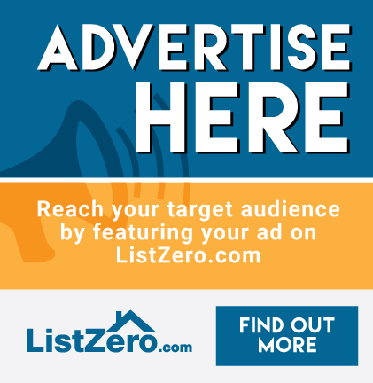 Advertise with ListZero.com